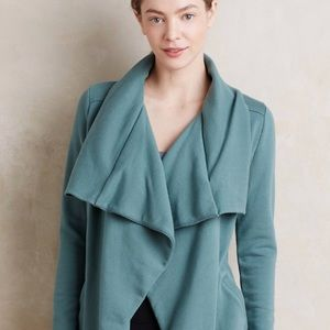 Anthropologie Saturday Sunday Teal Thick Cardigan